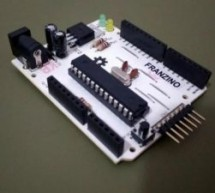 Franzino is a low cost Arduino standalone board