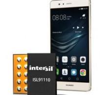 Intersil's Switching Regulators Adopted in Huawei P9 Smartphone