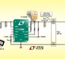 LT3086 – 40V, 2.1A Low Dropout Adjustable Linear Regulator with Monitoring and Cable Drop Compensation