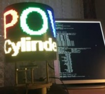 POV Cylinder with Arduino Due
