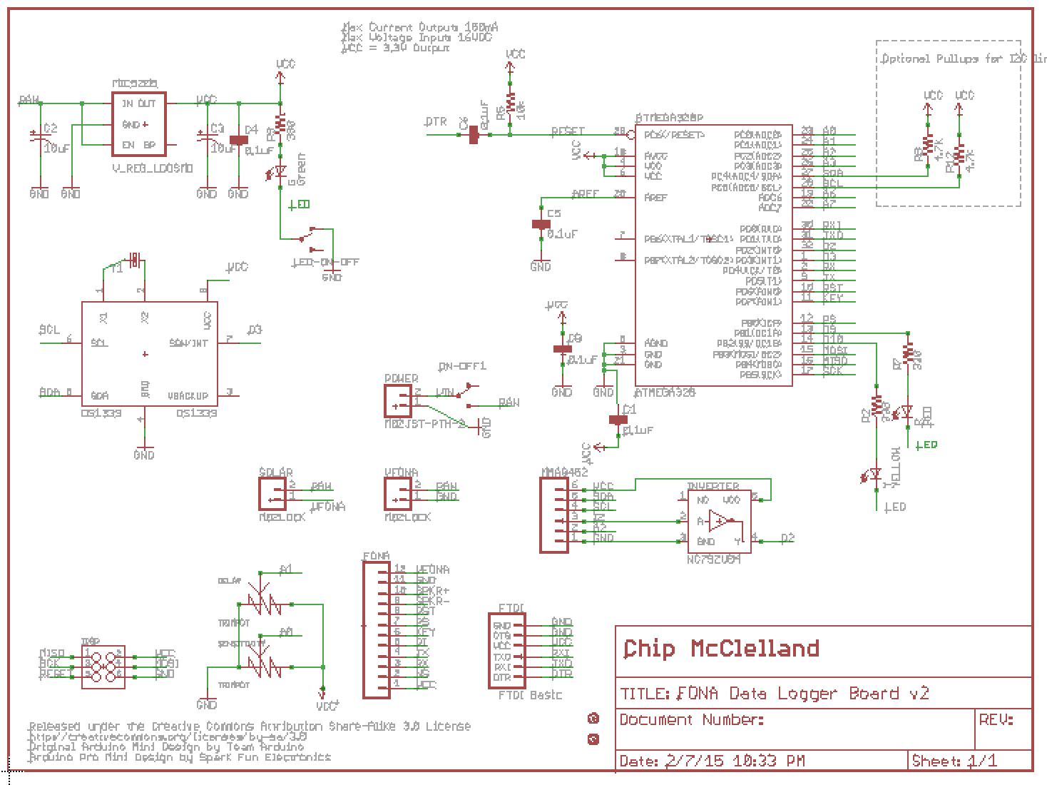 Schematic Cellular Data Logger