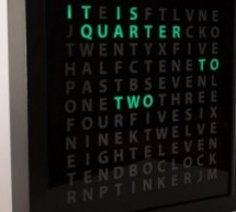 Tinker's Word Clock – REVISITED! NOW 110% more AWESOME
