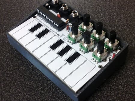 An open-source DIY touch synthesizer