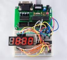LED Driver MAX7219 – clock