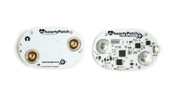HeartyPatch – Open source ECG patch with Wifi