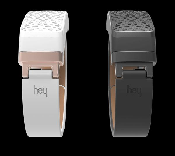 Send Touch Over Distance With HEY Bracelet