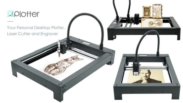 XPlotter, The All-In-One Plotter, Engraver and Laser Cutter