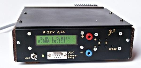 A digital DC powersupply