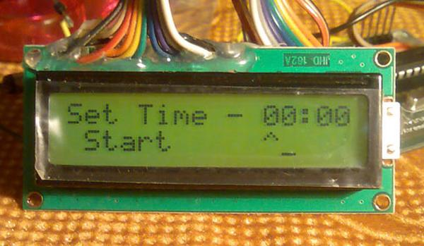 AVR Project – Relay Timer with ATmega8 AVR MCU