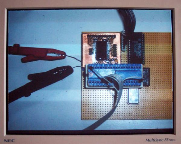 Atmel ATmega Video generator with SDRAM