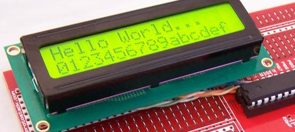 hd44780 Character LCD Displays – Part 2