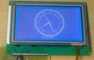 ATmega16 Analog-Looking Digital Clock Project