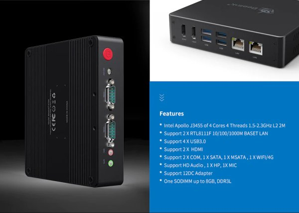 Beelink KT03 Industrial MiniPC with Apollo lake SoC goes for $150