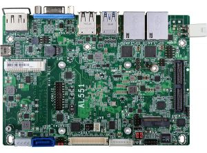 DFI's Apollo Lake Based AL551 SBC Runs Ubuntu And Windows 10