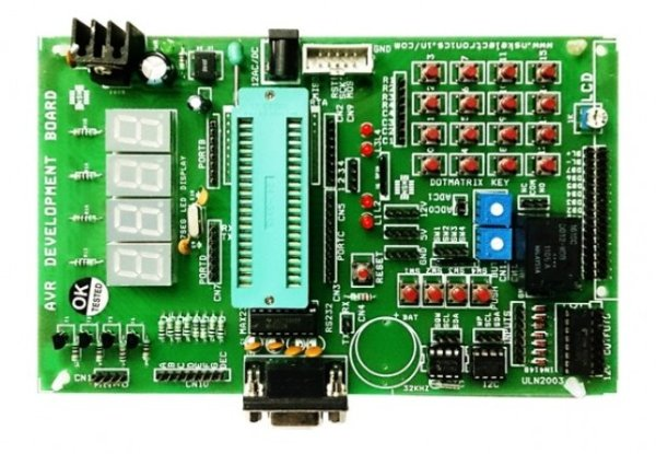 Handling the Digital Input Output in AVR Micro Controllers