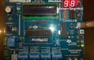 Interface 7 Segment Display to AVR Atmega32 using CD4511B