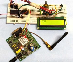 Interfacing GSM Module with AVR Microcontroller Send and Receive Messages