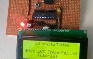 Interfacing LCD Module with AVR in 4-Bit Mode