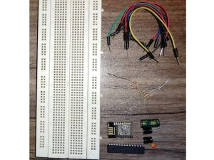 Make Your Own WiCard WiFi Module on a Breadboard