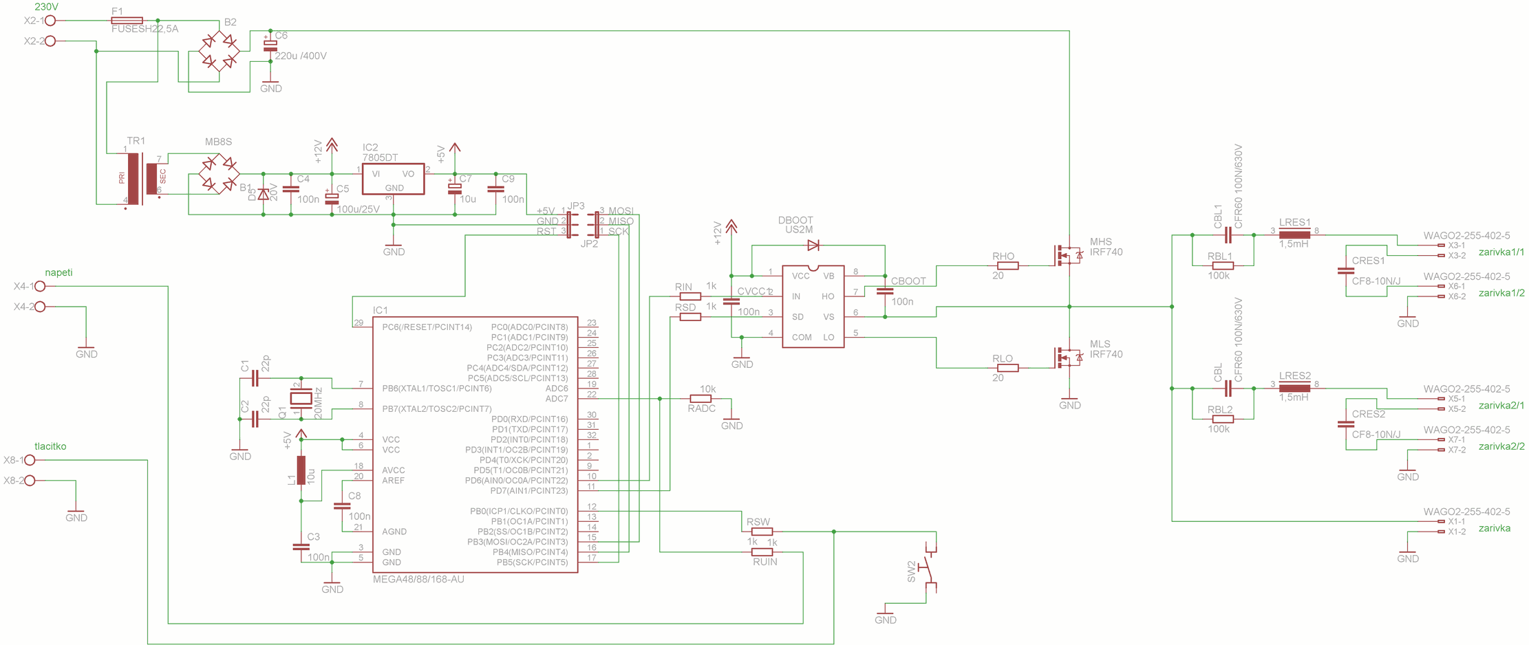 ELECTRONIC FLUORESCENT BALAST CIRCUIT SCHEMATIC