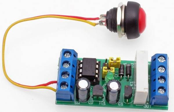 PROGRAMMABLE TIMER CIRCUIT ATTINY25