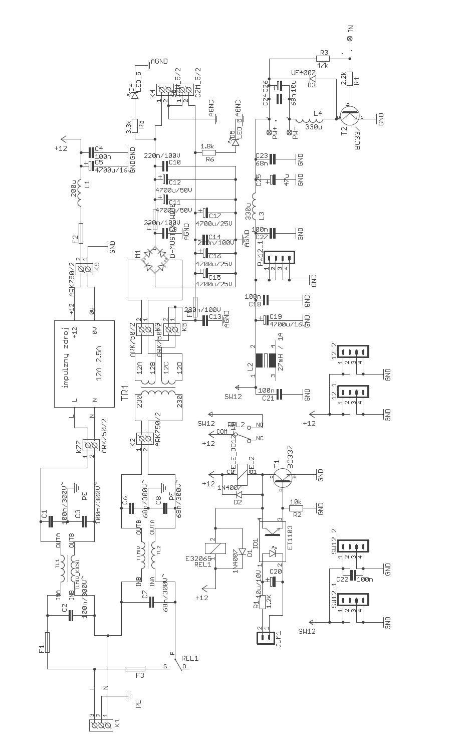 Digital Class D Amplifier Circuit Tas5706a Pcm1850a Atmega128 Classd Simulator Schematics