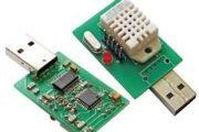 THERMOMETER HYGROMETER CIRCUIT USB DHT22 ATMEGA8