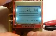 NOKIA5110 LCD LOGIC ANALYZER CIRCUIT ATMEGA8