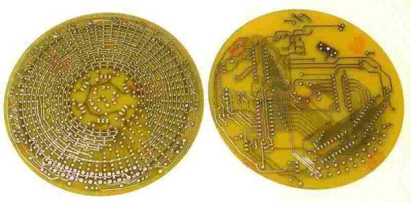 ANALOG LED CLOCK PROJECT (2)