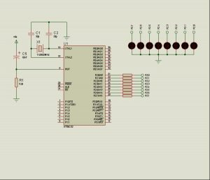 AT89C52 APPLICATIONS EXAMPLE SCHEMATIC (3)