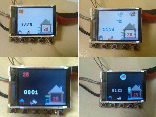 ATMEGA32 DS1820 THERMOMETER CIRCUIT