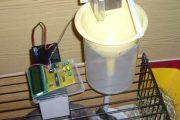 AUTOMATIC RABBIT FEEDING SYSTEM ATMEGA8 TIMER