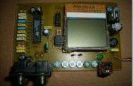 DIGITAL AUDIO CONTROL CIRCUIT NOKIA 3310 LCD ATMEL ATMEGA8 TDA7439