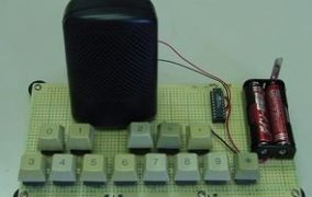 ELECTRONIC PIANO CIRCUIT ATTINY2313 SIMPLE AUDIO PROJECT