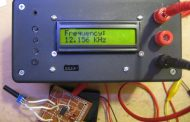 FREQUENCY METER CIRCUIT LCR METER ATMEGA328
