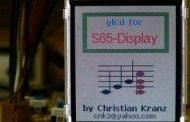 ATMEGA128 AVR GRAPHIC LCD APPLICATION SIEMENS S65 LS020
