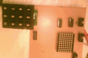 AT89C51 KEYPAD CONTROLLED SCROLLING LED DOT MATRIX TEXT