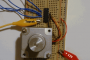 AT89S52 LCD DISPLAY STEPPER MOTOR CONTROL EXAMPLE
