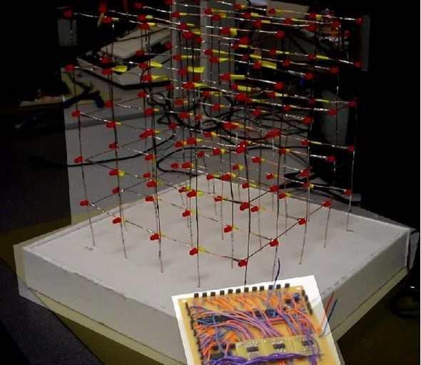 Atmega32 Led Cube Circuit 74hct238