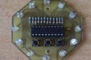 LED EFFECT CIRCUIT ATTINY2313 MULTI FUNCTION