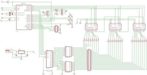 LED Matrix schamatic (3)