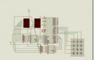 8051 MICROCONTROLLER UP DOWN COUNTER CIRCUIT (KEIL)