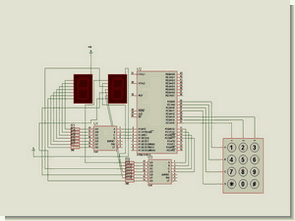 MICROCONTROLLER UP DOWN COUNTER CIRCUIT