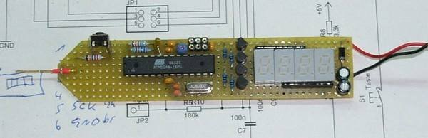 MULTIMETER CIRCUIT LED DISPLAY (3)