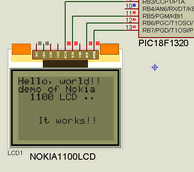 NOKIA LCD MODELS PROTEUS ISIS EXAMPLES CIRCUITS (1)