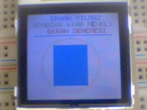 NOKIA6100 LCD PCF-8833 APPLICATION