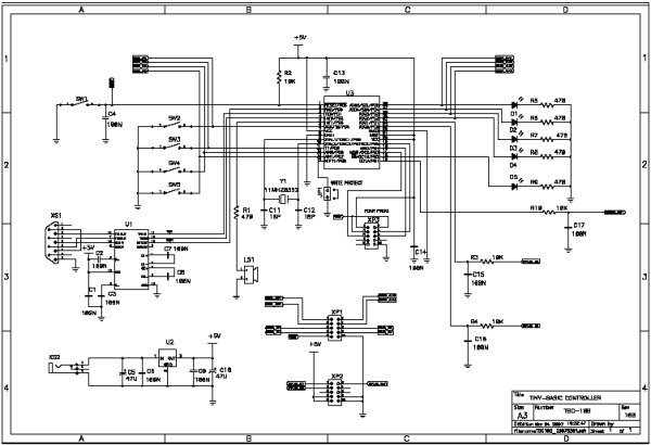 programmable controller board electronic plc circuit