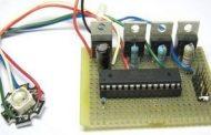 RGB LED EXAMPLE CIRCUIT ATMEGA88 ATMEGA8 ATMEGA48