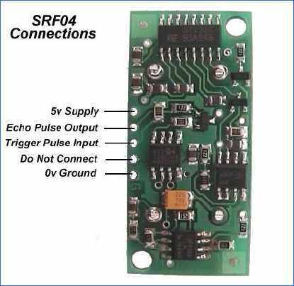 SRF04 ULTRASONIC TRANSCEIVER (2)