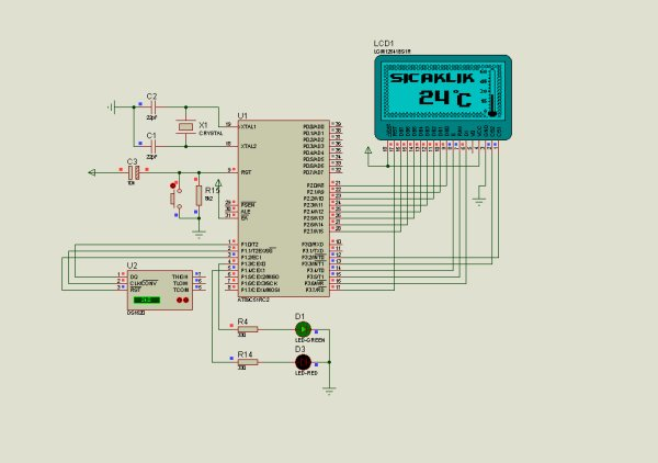 THERMOMETER CIRCUIT SCHEMATIC